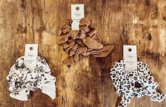 Mommy & Me Hair Elastics | Lulujo | | Arrow Women's Boutique