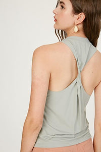 Muscle Tank w/ a Twist | Listicle | Listicle | | Arrow Women's Boutique