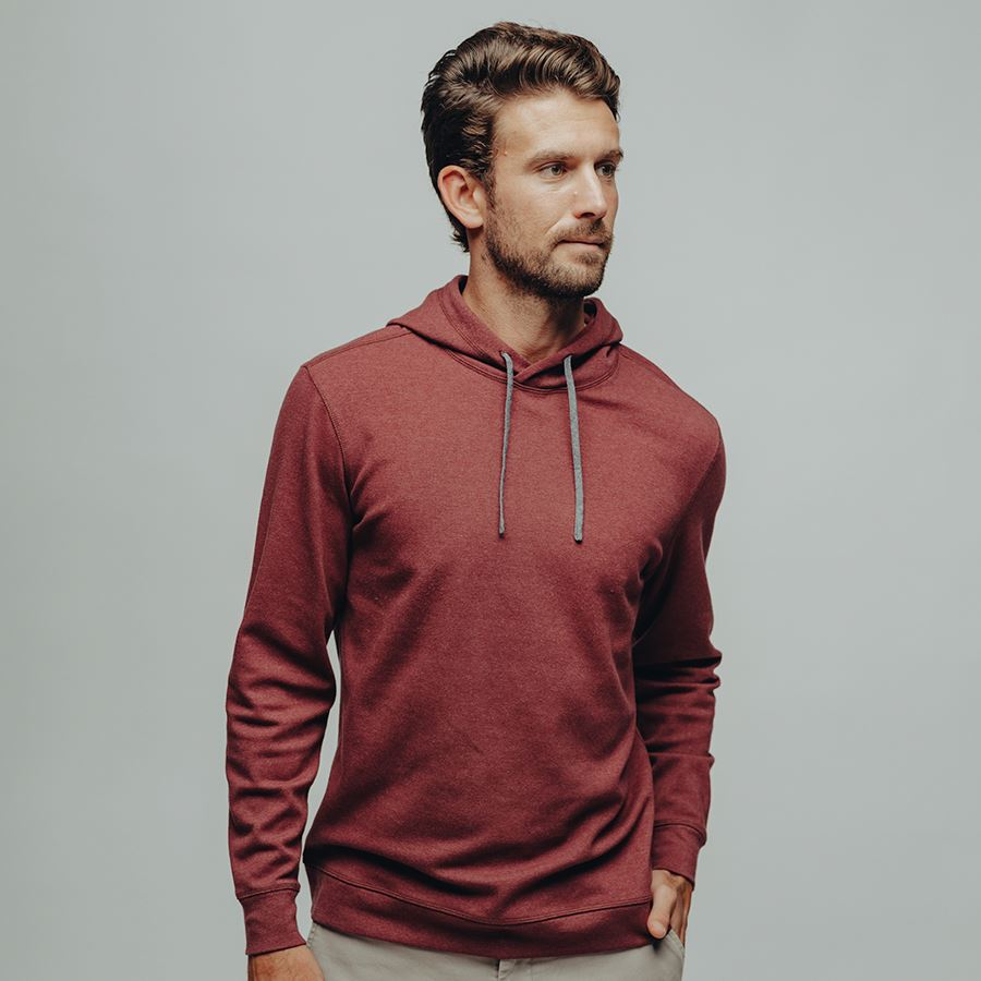 The Basic Puremeso Hoodie-Wine l The Normal Brand | Normal Brand | | Arrow Women's Boutique