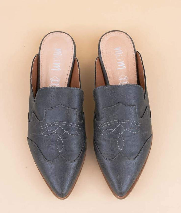 The Kendrick Mule-Black l Miim | Miracle Miles | | Arrow Women's Boutique