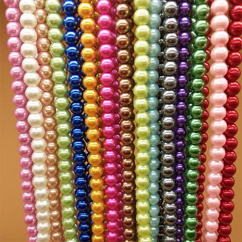 Coated Glass pearls