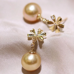 Load image into Gallery viewer, golden south sea pearl factory golden south sea pearls real