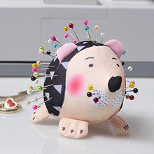 Load image into Gallery viewer, 2 Hedgehog Pin Cushions
