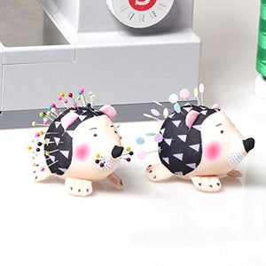 2 Hedgehog Pin Cushions
