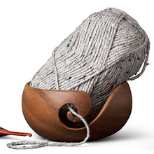 Load image into Gallery viewer, Furls Wooden Yarn Bowl