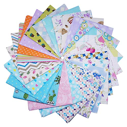 Amazon.com: Quilting Fabric, Misscrafts 25pcs 8