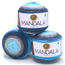 Load image into Gallery viewer, Lion Brand Yarn Mandala Classic Novelty Yarn, Pack of 3