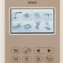 Load image into Gallery viewer, Brother SE625 Combination Computerized Sewing and Embroidery Machine