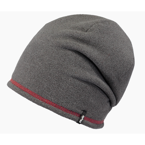 Fleece Beanie 53 Heather Grey