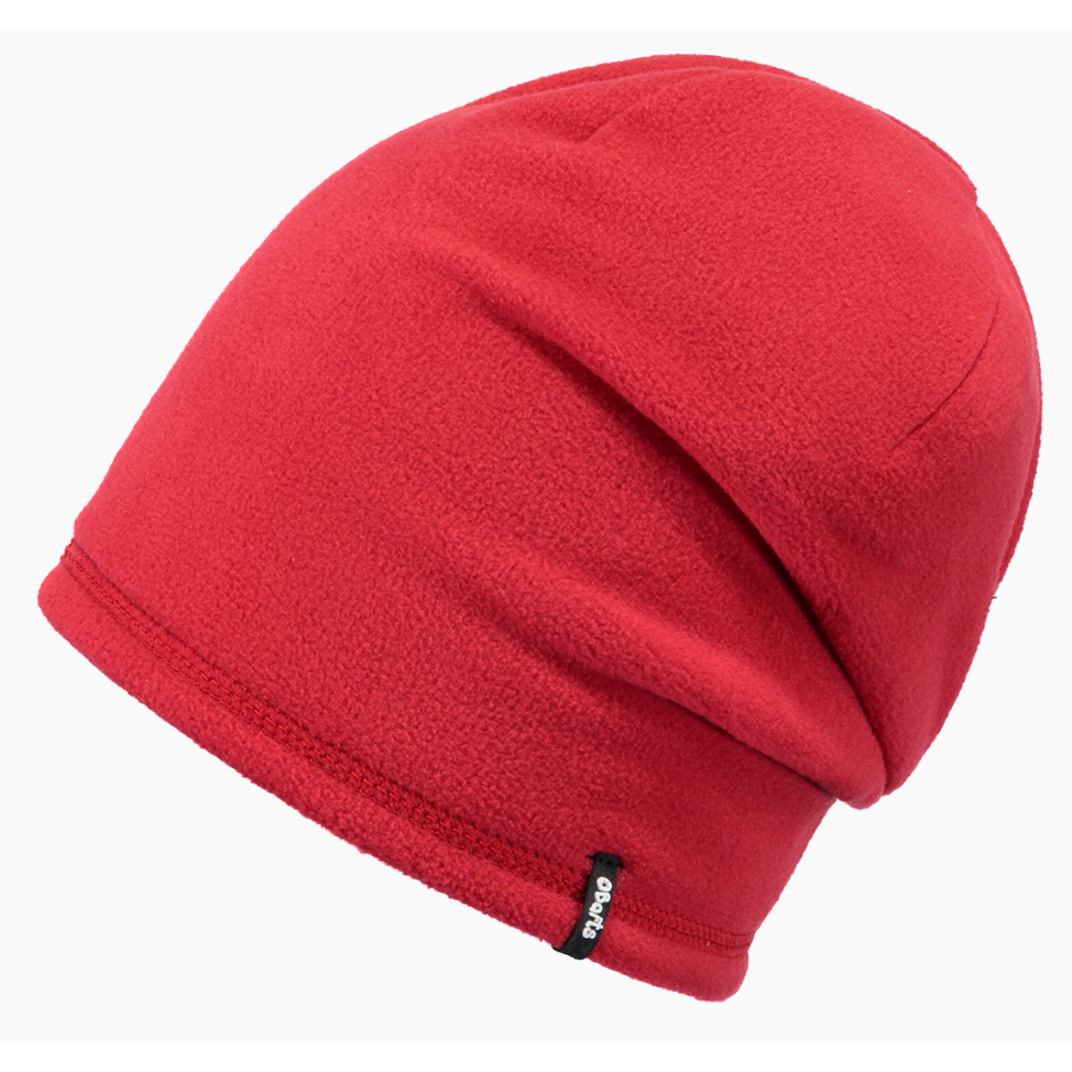 Fleece Beanie 53 Red