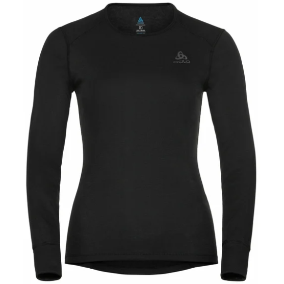 Odlo Women's Active Warm Eco Long- Sleeve Baselayer Top