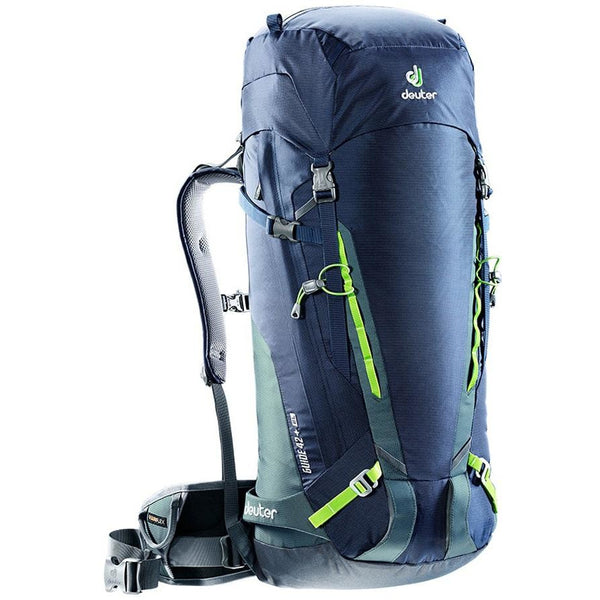 Guide 45+ Navy Granite climbing skiing backpack