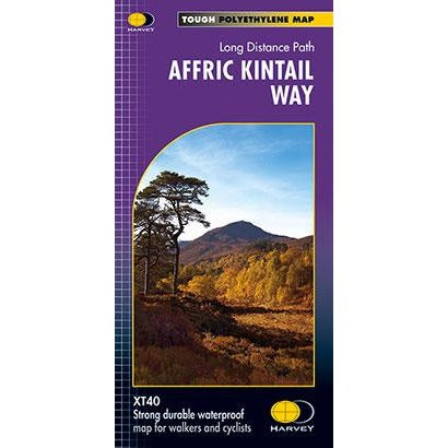 Harvey Maps Affric Kintail Way