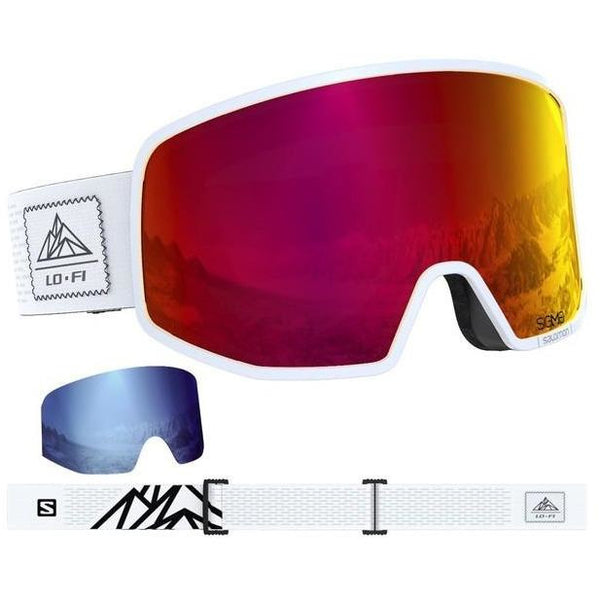 Salomon  Lo Fi  Frame - White