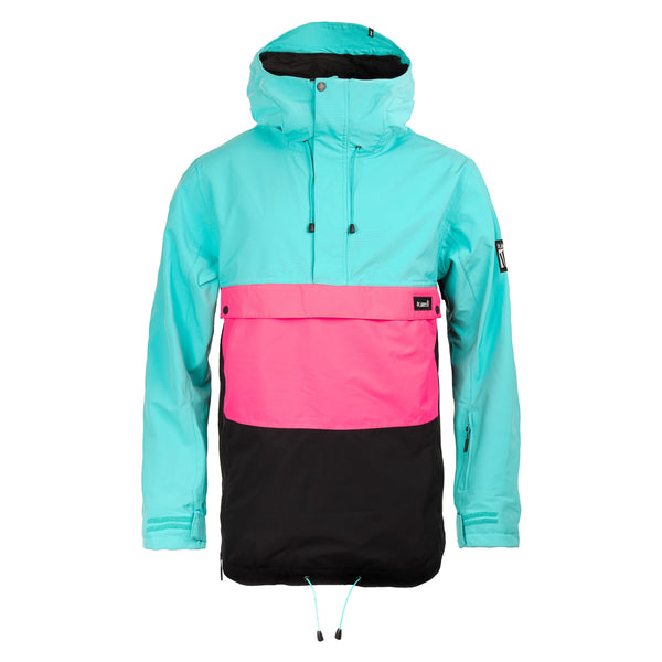 Planks Happy Days Anorak Teal