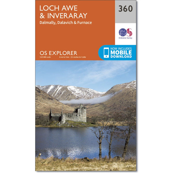 360 Loch Awe & Inveraray