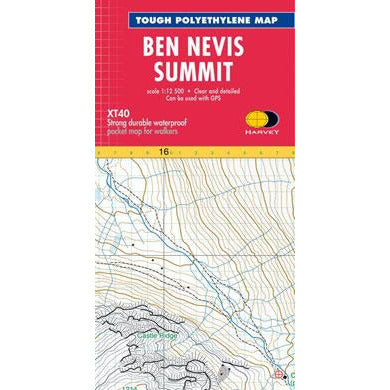 Harvey Maps  Ben Nevis Summit XT40