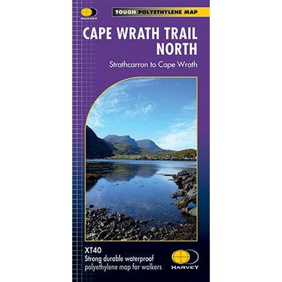 Harvey Maps Cape Wrath Trail North