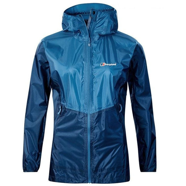 Berghaus womens fast hike jacket in blue