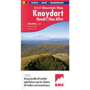 Harvey Maps  Knoydart, Kintail & Glen Affric XT40