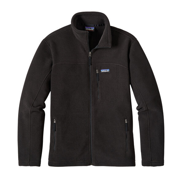 patagonia black fleece jacket