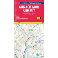 Harvey Maps  Aonach Mor Summit XT40