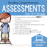 2nd Grade Reading Comprehension Assessments DIGITAL CLASSROOM
