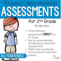 2nd Grade Reading Comprehension Assessments