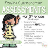 3rd Grade Reading Tests Reading Comprehension