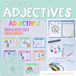 Adjective Activities Descriptive, Comparative, and Superlative