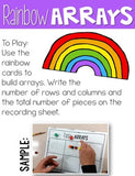 Arrays Activities Teaching Array Lesson Plans