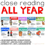 Close Reading All Year BUNDLE