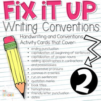 Fix it Up II More Writing Conventions Practice