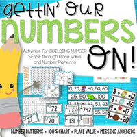 Number Sense Activities for 2 and 3 Digit Numbers