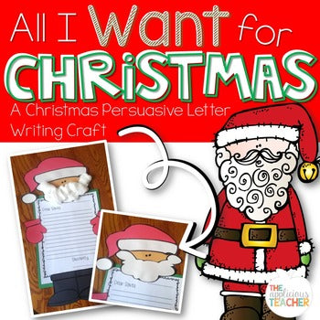 Santa Letter Writing Activity | Santa Craft | Santa Writing | Christmas Writing