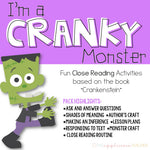 Crankenstein: Close Reading Activities