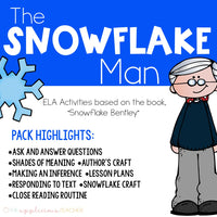 Snowflake Bentley Close Reading Activities