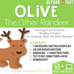 Olive the Other Reindeer Beyond the Text Activities