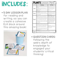 From Seed to Plant | Plant Life Cycle Activities Close Reading