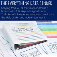 Teacher Everything Binder Bundle: Simple and Colorful