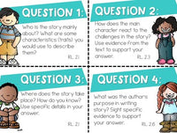 Student Led Discussion Cards for Any Text