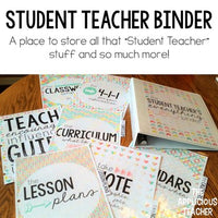 Student Teacher Binder