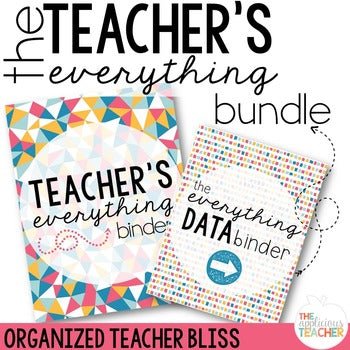Teacher Everything Binder Bundle