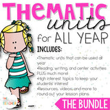 Thematic Units Bundle for 2nd and 3rd Grade