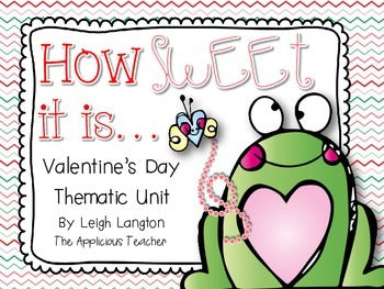 Valentine's Day Math and Reading Activities and Centers