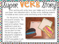 Verb Activities: Action and Linking