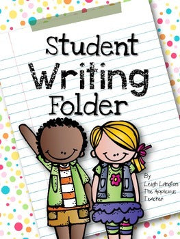 Writing Folder for Student