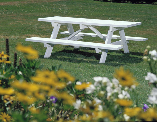 Seaside Traditional Picnic Table