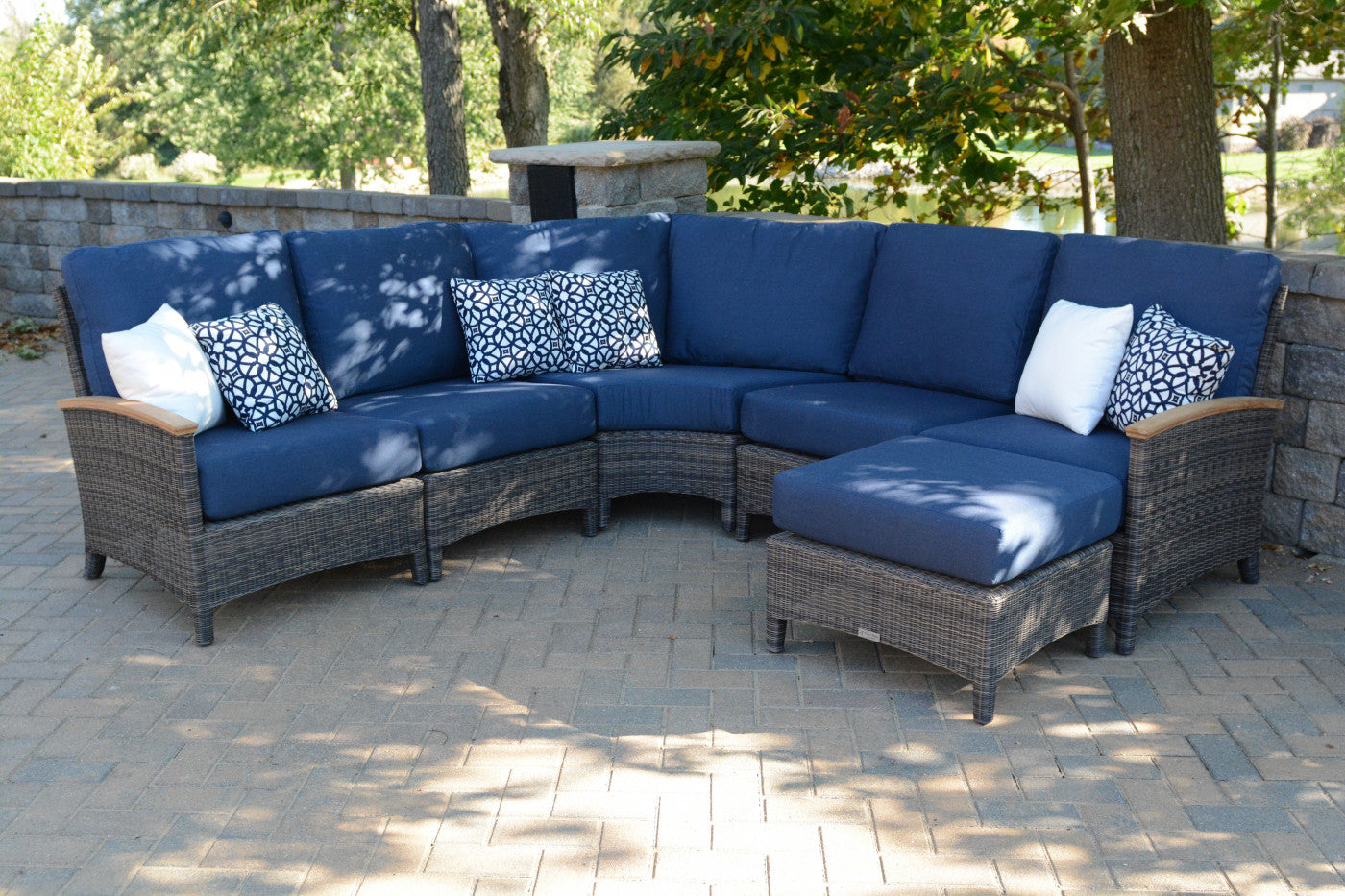 Bella Sectional Armless Chair