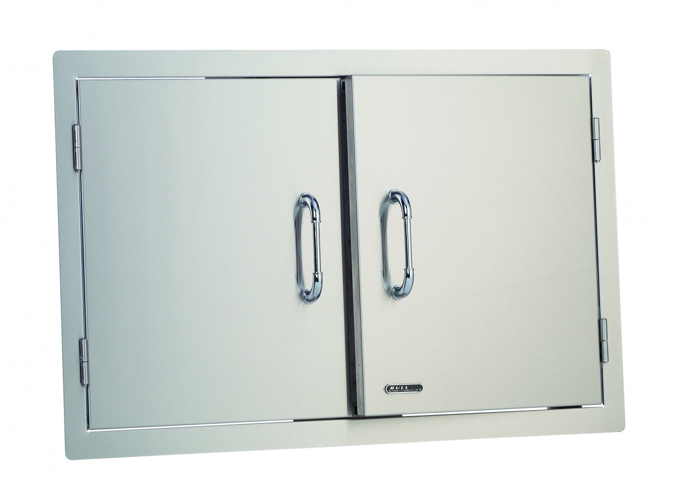 "38"" Stainless Steel Double Doors"